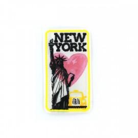 Thermocollant écusson amour de villes - New York