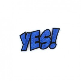 Thermocollant BD - YES ! - bleu