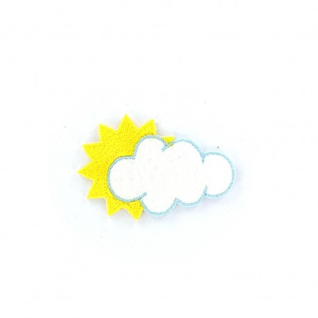 Weather Iron on - cloudy