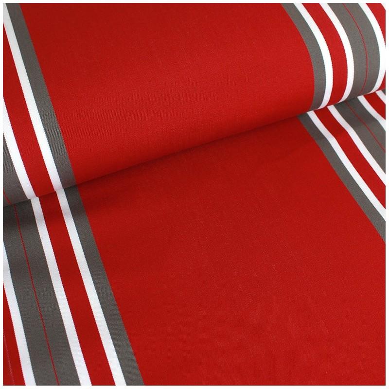 tissu toile transat playa levant 43cm rouge x 10cm. Black Bedroom Furniture Sets. Home Design Ideas