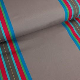 Tissu toile transat Playa Levant (43cm) - taupe x 10cm