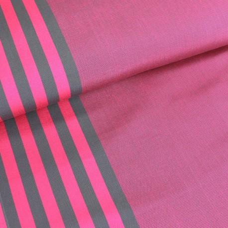 tissu toile transat playa cassis 43cm fuchsia x 10cm. Black Bedroom Furniture Sets. Home Design Ideas