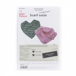 "Lovely mama! Pattern - Hand Made collection ""Scarf sutai"""
