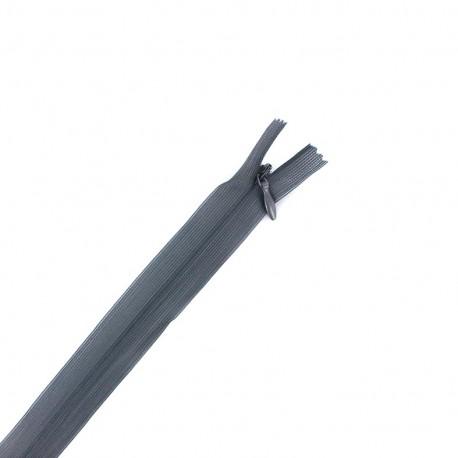 Fermeture  Eclair® invisible non séparable - gris foncé