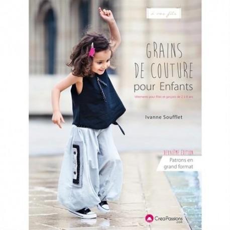 """Livre """"Grains de couture pour Enfants - deuxième édition"""""""