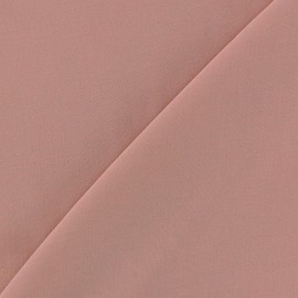 Tissu viscose chemisier vieux rose x 10cm