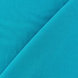 Tissu viscose chemisier bleu azur x 10cm