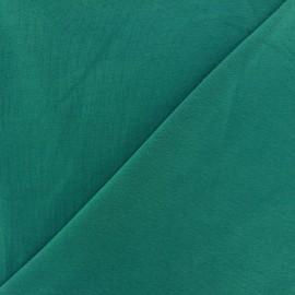 ♥ Coupon 60 cm X 145 cm ♥ Tissu jersey uni bleu canard