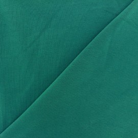 Tissu jersey uni bleu canard x 10cm