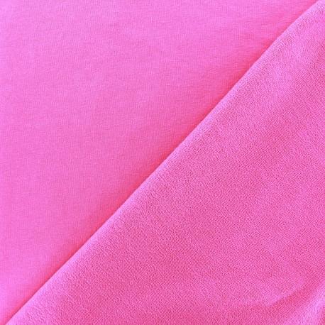 Light jogging Jersey Fabric - bright pink x 10cm