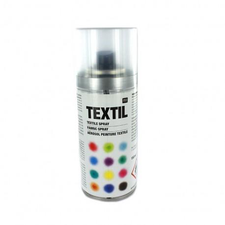 Aérosol peinture textile - Argent