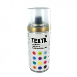 Aérosol peinture textile - Doré