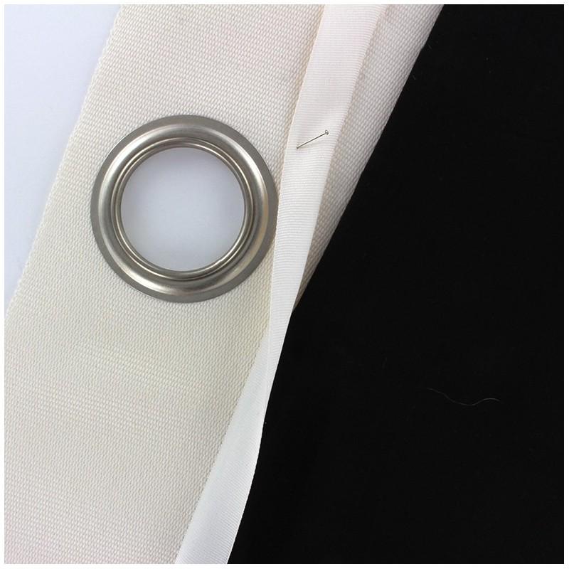 accessoire rideaux bande oeillets coudre blanc mpm. Black Bedroom Furniture Sets. Home Design Ideas