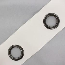 Bande à oeillets auto-agrippante Rivetstrip® - blanc cassé x 18cm