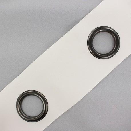 Self-fastening eyelet tape Riverstrip® - off-white x 18cm