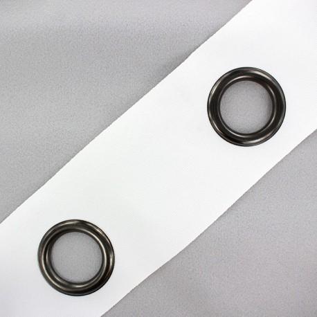 Self-fastening eyelet tape Riverstrip® - white x 18cm