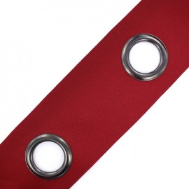 Self-fastening eyelet tape Riverstrip® - burgundy x 18cm