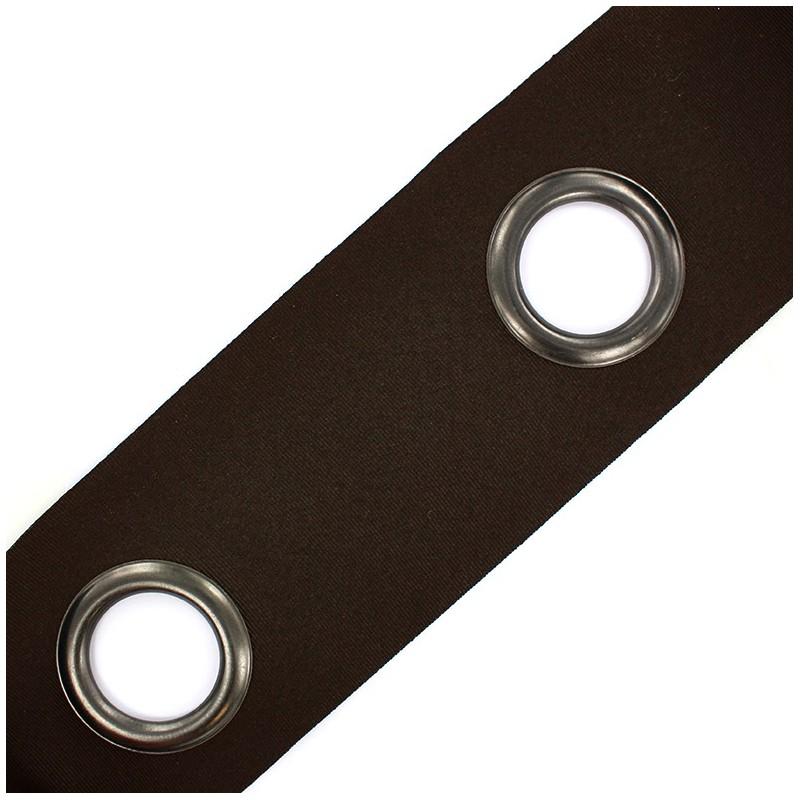 accessoire rideaux bande oeillets rivetstrip marron mpm. Black Bedroom Furniture Sets. Home Design Ideas