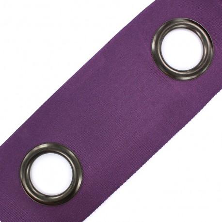 Self-fastening eyelet tape Riverstrip® - mauve x 18cm