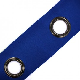 Self-fastening eyelet tape Riverstrip® - navy x 18cm
