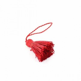 Pompon rouge 30 mm
