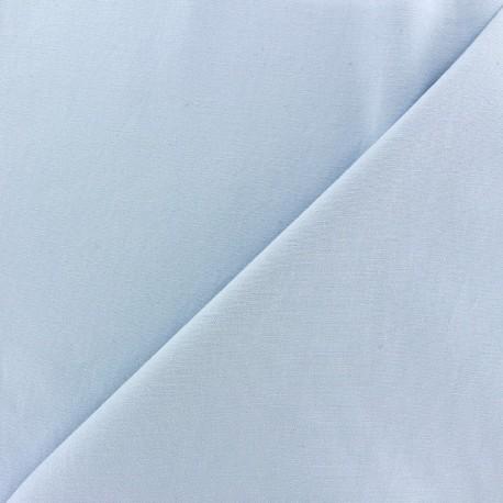 Tissu Gabardine Lycra mat v.2 bleu clair x 10cm