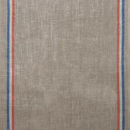Natural tea towels canvas fabric - natural x 10cm