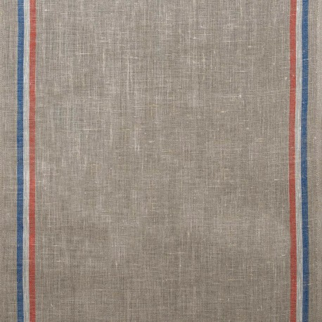 Tissu toile torchon lin - naturel x 10cm