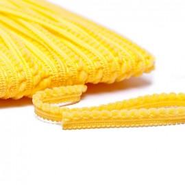 Galon little pompon - jaune x 1m
