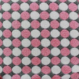 Baby's Security Blanket Confettis - pink x 10cm