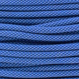 Cordon tressé Jules 8 mm - bleu x 1m