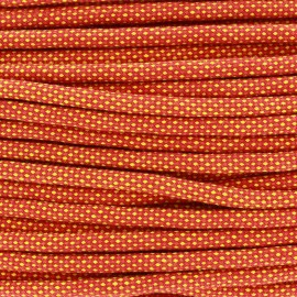 Braided cord Jules 8 mm - orange x 1m