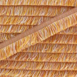 Franges multi Aymara 20 mm - sable x 1m