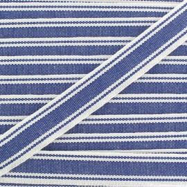 Ruban gros grain Playa 20 mm - bleu x 1m