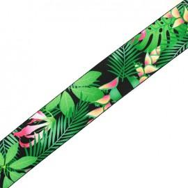 Flat elastic Tropical x 50cm