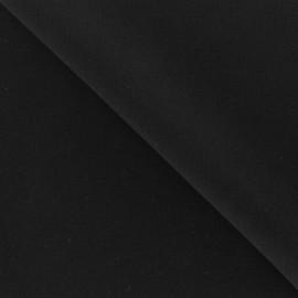 Tissu crêpe noir x10cm