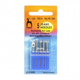 Jeans standard machine needles size 90