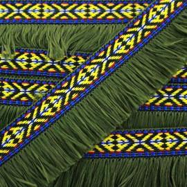 Frange Paracas - kaki x 1m
