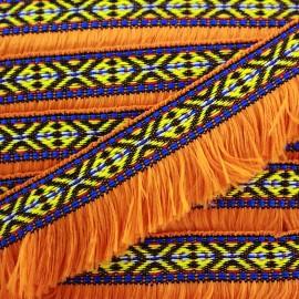 Frange Paracas - orange x 1m
