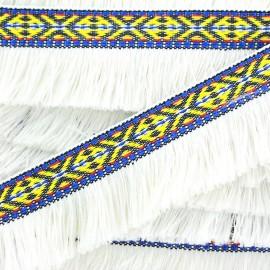 Frange Paracas - écru x 1m