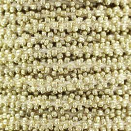 Galon Perles - doré x 1m