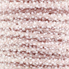 Galon Perles - rose clair x 1m