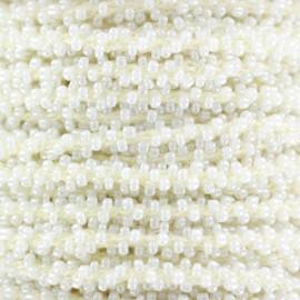 Galon Perles - crème x 1m