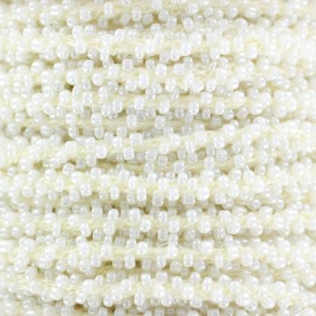 Pearl braid trimming - cream x 1m