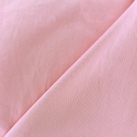 Tissu Gabardine Lycra mat v.2- rose x 10cm