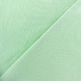 ♥ Coupon 80 cm X 140 cm ♥ Tissu Gabardine Lycra mat v.2 - vert d'eau