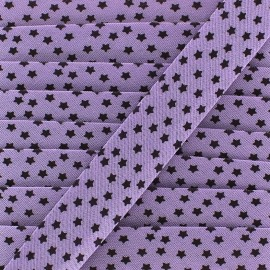 Biais Constellation - violet x 1m