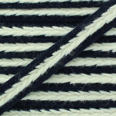 Braid trimming Summer - blue navy x 1m