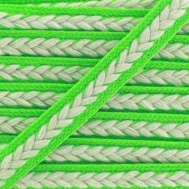 Galon tressé Summer - vert-clair x 1m