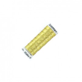 Gütermann Trend Metallic thread bobbin - gold